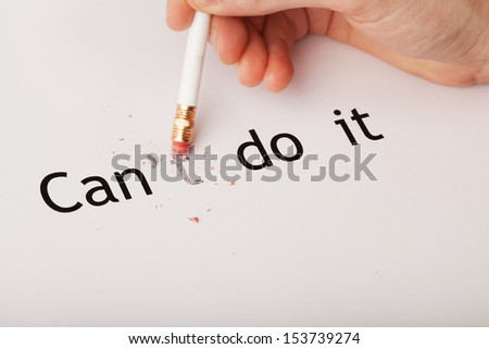 can do - stock photo