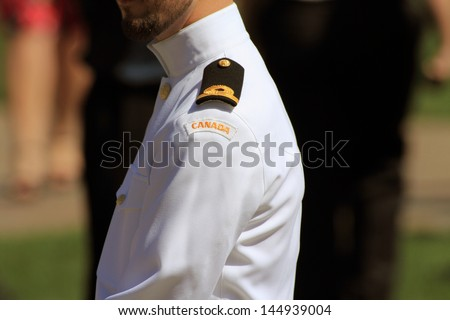 canadian navy - stock photo