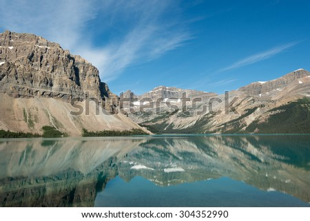 Canadian Rockies in Banff National Park, Alberta, Canada - stock photo