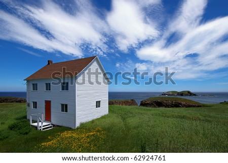 Canadian summer landscape. - stock photo