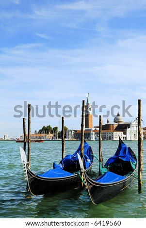 Canal Grande. Venice in northern italy