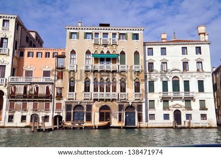 Canale Grande in Venice, Italy - stock photo