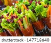 Canape - stock photo