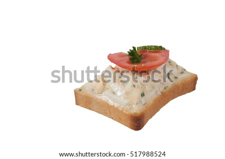 Meat canape boiled beef tongue horseradish stock photo for Beef horseradish canape
