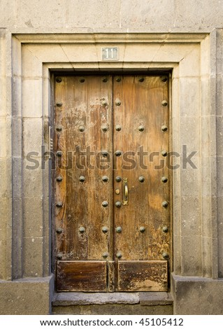 Canary Islands door