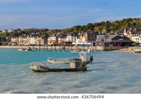Cancale in Brittany, northwestern France - stock photo