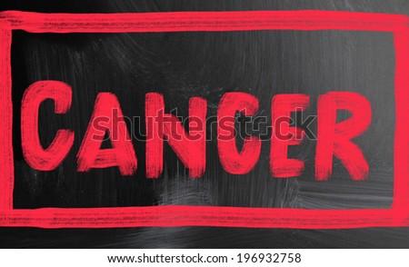 cancer concept - stock photo