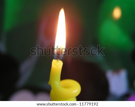 candel ligth - stock photo