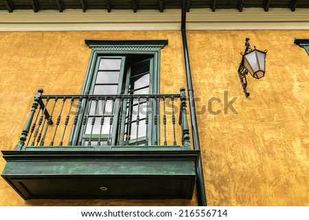 Candelaria in Bogota, Colombia - stock photo