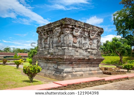 Candi Penataran temple in Blitar, east Java,  Indonesia.