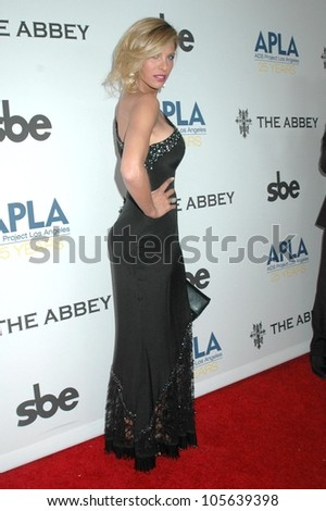 Candis Cayne at the APLA 'The Envelope Please' Oscar Viewing Party. The Abbey, West Hollywood, CA 02-22-09