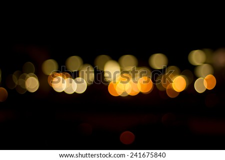Candle light. Abstract light background.