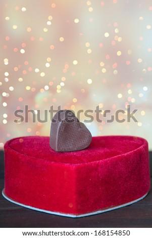 Candy box - stock photo