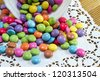 Candy-colored background - stock photo