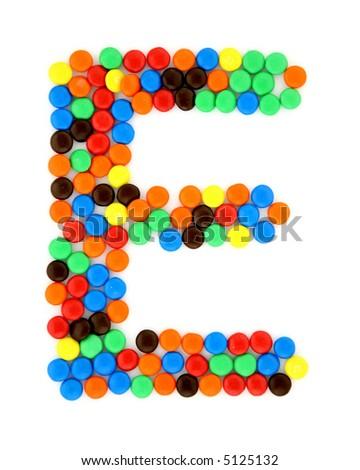 Candy E - stock photo