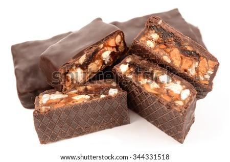 candy muesli - stock photo