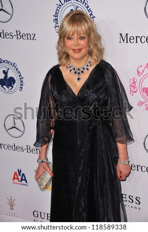 Candy Spelling at the 26th Carousel of Hope Gala at the Beverly Hilton Hotel. October 20, 2012  Beverly Hills, CA Picture: Paul Smith - stock photo