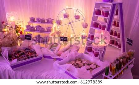 Candy Table Wedding Mexico Stock Photo (Edit Now)- Shutterstock