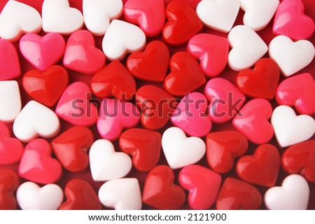 Candy Valentine's Hearts