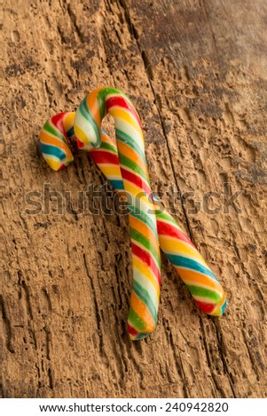 cane sugar - stock photo