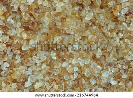 Cane Sugar Background - stock photo