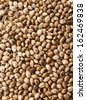 Cannabis Hemp seeds close up macro shot surface top view background - stock photo