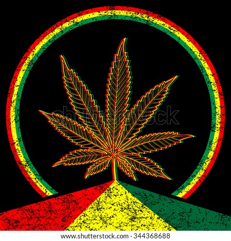 Cannabis-Marijuana-background - stock photo