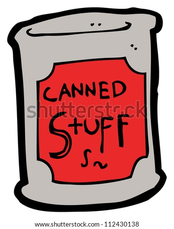 Stock Images similar to ID 96811723 - cartoon paint tin