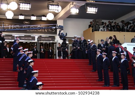 CANNES, FRANCE - MAY 16: A general view of atmosphere on opening day during the 65th Annual Cannes Film Festival on May 16, 2012 in Cannes, France.