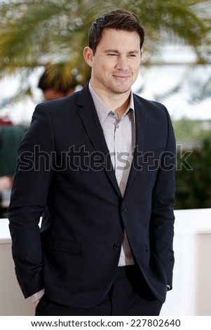 CANNES, FRANCE - MAY 19: Actor Channing Tatum attends the 'Foxcatcher' photo-call at the 67th Cannes Film Festival on May 19, 2014 in Cannes, France.