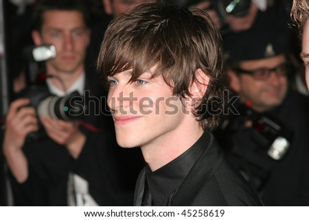 CANNES, FRANCE - MAY 18: Actor Gaspard Ulliel attends the 'Paris Je T'aime' premiere during the 59th International Cannes Film Festival May 18, 2006 in Cannes, France