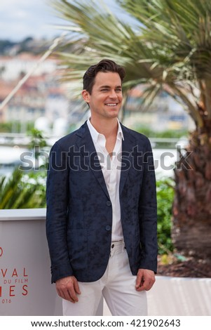Cannes, France - 15 MAY 2016 - Actor Matt Bomer attends 'The Nice Guys (The Nice Guys-LA Detectives)' - Photocall at the annual 69th Cannes Film Festival at Palais des Festivals