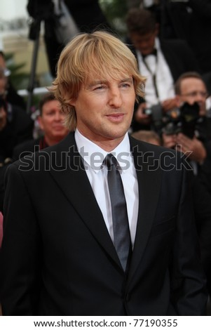 CANNES, FRANCE - MAY 11: Actor Owen Wilson attends the 'Midnight In Paris' premiere at the Palais des Festivals during the 64th Cannes Film Festival on May 11, 2011 in Cannes, France
