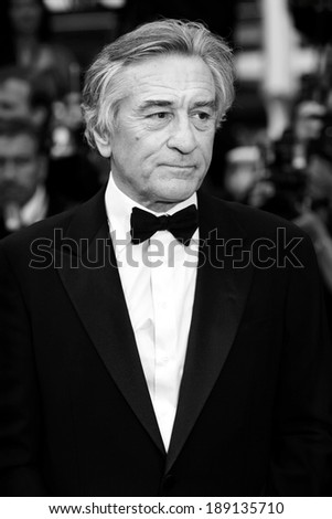 CANNES, FRANCE - MAY 11: Actor Robert De Niro attends the Opening Ceremony Premiere during the 64th Cannes Film Festival on May 11, 2011 in Cannes, France. - stock photo