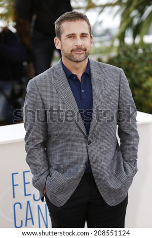 CANNES, FRANCE - MAY 19: Actor Steve Carell attends the 'Foxcatcher' photo-call at the 67th Cannes Film Festival on May 19, 2014 in Cannes, France.