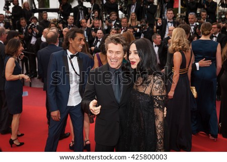 Cannes, France - 22 MAY 2016 - Actor Willem Dafoe attends the closing ceremony of the 69th annual Cannes Film Festival