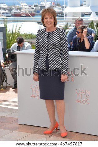 "CANNES, FRANCE - MAY 14, 2016: Actress Penelope Wilton at the photocallThe BFG"" at the 69th Festival de Cannes."