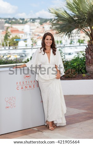 Cannes, France - 15 MAY 2016 - Actress Shiree Nadav-Naor attends �ºBeyond The Mountains And Hills�º Photocall during The 69th Annual Cannes Film Festival at the Palais des Festivals - stock photo