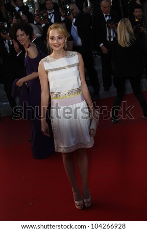 CANNES, FRANCE - MAY 23:  Beatrice Rosen attends the 'On The Road' Premiere during the 65th Annual Cannes Film Festival at Palais des Festivals on May 23, 2012 in Cannes, France. - stock photo
