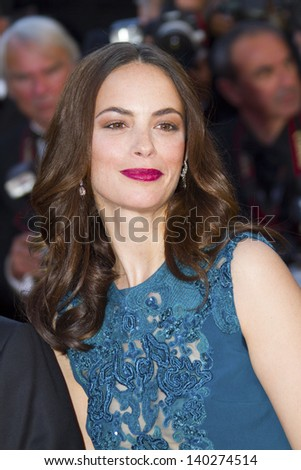 CANNES, FRANCE - MAY 26: Berenice Bejo attends the Premiere of 'Zulu' and the Closing Ceremony of The 66th  Cannes Film Festival at Palais on May 26, 2013 in Cannes, France. - stock photo