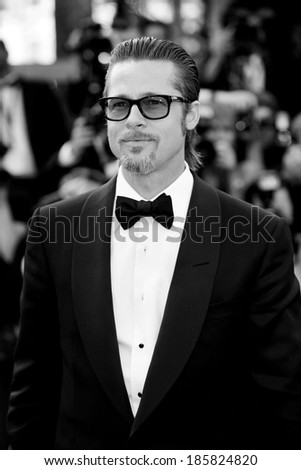 CANNES, FRANCE - MAY 16: Brad Pitt attends the 'The Tree Of Life' premiere during the 64th Cannes Film Festival on May 16, 2011 in Cannes, France.  - stock photo