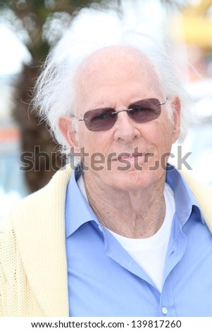 CANNES, FRANCE - MAY 23: Bruce Dern  attends the Photocall for 'Nebraska' during The 66th Annual Cannes Film Festival at the Palais des Festival on May 23, 2013 in Cannes, France. - stock photo