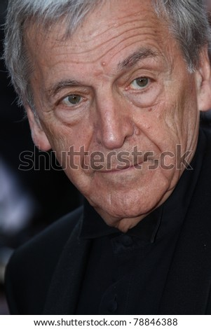 CANNES, FRANCE - MAY 15:   Costa Gavras attends the 'The Artist' Premiere during the 64th Cannes Film Festival at Palais des Festivals on May 15, 2011 in Cannes, France