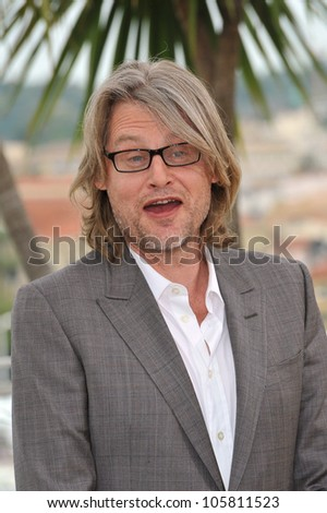 "CANNES, FRANCE - MAY 22, 2012: Director Andrew Dominik at photocall for his new movie ""Killing Them Softly"" in competition at the 65th Festival de Cannes. May 22, 2012  Cannes, France"