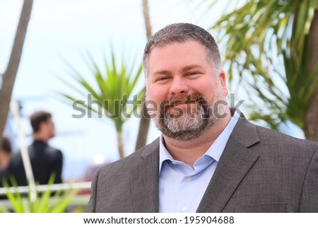 CANNES, FRANCE - MAY 16: Director Dean DeBlois attends the 'How To Train Your Dragon 2' photocall during the 67th Annual Cannes Film Festival on May 16, 2014 in Cannes, France. - stock photo