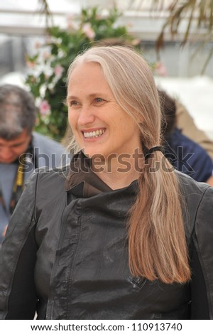 "CANNES, FRANCE - MAY 15, 2009: Director Jane Campion at the photocall for her new movie ""Bright Star"""