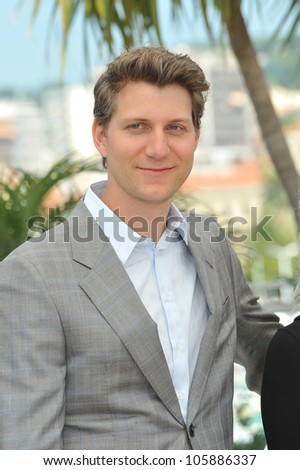 "CANNES, FRANCE - MAY 26, 2012: Director Jeff Nichols at the photocall for his new movie ""Mud"" in competition at the 65th Festival de Cannes. May 26, 2012  Cannes, France"
