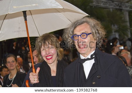 CANNES, FRANCE - MAY 18:  Donata Wenders; Wim Wenders attend the Premiere of 'Jimmy P. (Psychotherapy Of A Plains Indian)' at The 66th Annual Cannes Film Festival on May 18, 2013 in Cannes, France.