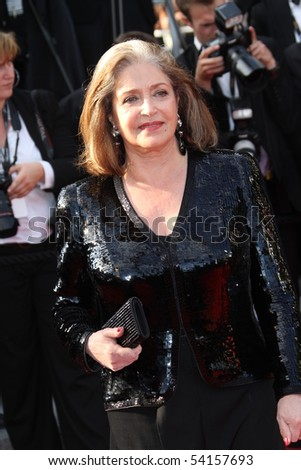 CANNES, FRANCE - MAY 23: Francoise Fabian attends the Palme d'Or Closing Ceremony held at the Palais  during the 63rd  Cannes Film Festival on May 23, 2010 in Cannes, France