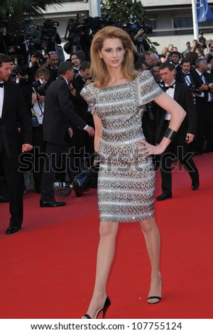 "CANNES, FRANCE - MAY 14, 2010: Frederique Bel at the premiere screening of ""Wall Street: Money Never Sleeps"" at the 63rd Festival de Cannes."